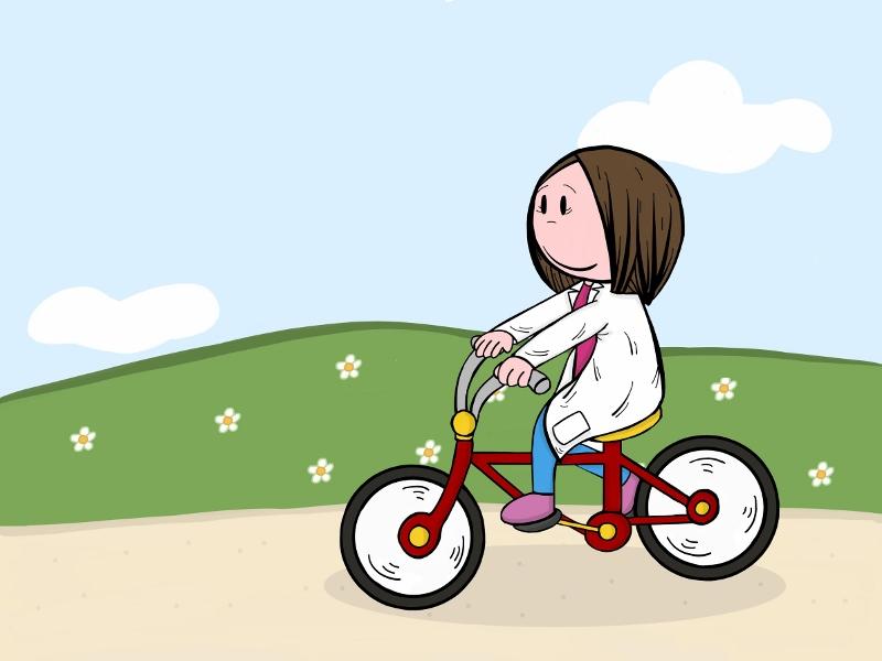 Dra en bicicleta (800x600)